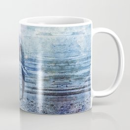 The Elephants Journey Blue Moon Coffee Mug