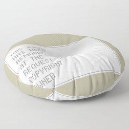 © Control v1.2 Floor Pillow
