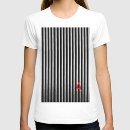 Stripes with and A T-shirt