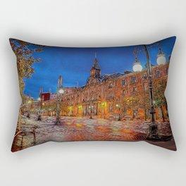 The Plaza Rectangular Pillow