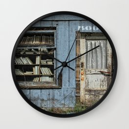 The Bookstore Wall Clock