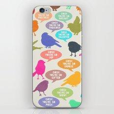 Birdsong_Gosh Quotes by Garima & Rachel iPhone & iPod Skin