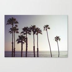 San Clemente Sunset 2 Canvas Print