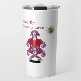 Flying By Showing Love Travel Mug