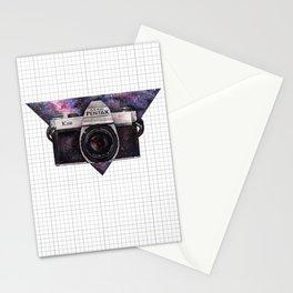 Pentax K1000 (Purple Nebula) Stationery Cards