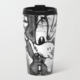 French art on the wall Metal Travel Mug