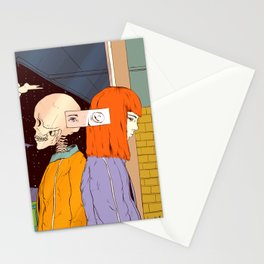 Haunting Past (A Reflection) Stationery Cards