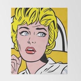 Nurse,1964 Throw Blanket