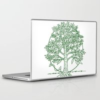 coasters Laptop & iPad Skins featuring Forest Lover's Tree by KimberlyVautrin