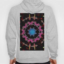 Alien Gemstone Mandala With Red Plasma Hoody