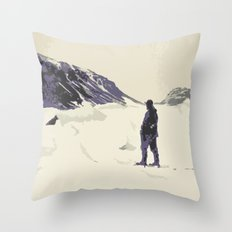 Winter's best friends Throw Pillow