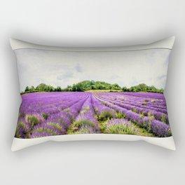 Lavender Fields. Rectangular Pillow