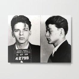 Young Sinatra Logic Metal Print