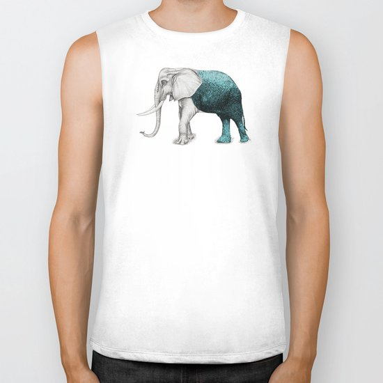 The Stone Elephant Biker Tank