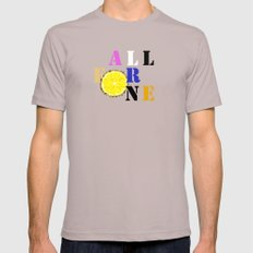 All For One Mens Fitted Tee Cinder SMALL