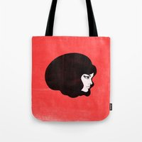 60s Tote Bags featuring 60s by martiszu