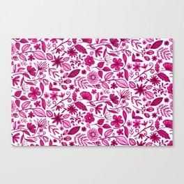 Plant your own garden Canvas Print