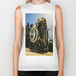 Old camera Biker Tank