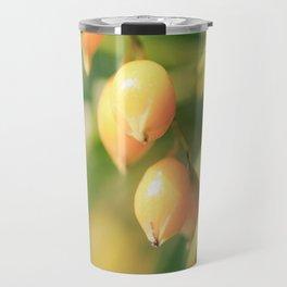 Yellow Bursts Travel Mug