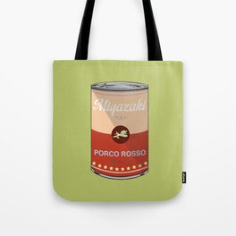 Porco Rosso - Miyazaki - Special Soup Series  Tote Bag