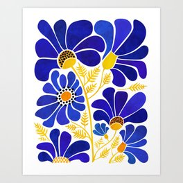 The Happiest Flowers Art Print