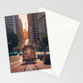 San Francisco Trolley (Color) Stationery Cards