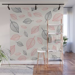 Fallen leaves Wall Mural
