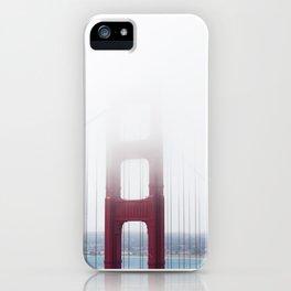 Golden Gate Bridge in Fog iPhone Case