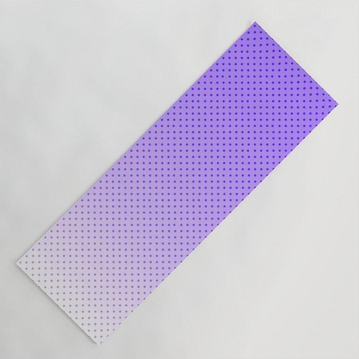 Ultra Violet Light Yoga Mat