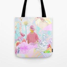 PINK RAVE Tote Bag