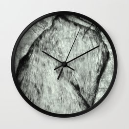 Wise Old Cat Wall Clock