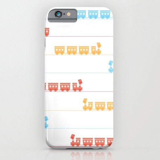 The Essential Patterns of Childhood - Train iPhone & iPod Case