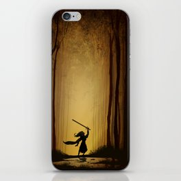 Victory over the darkness iPhone Skin