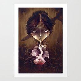 Mary Jane Kelly by Élian Black'Mor Art Print