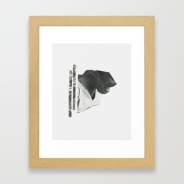 gold digger. Framed Art Print