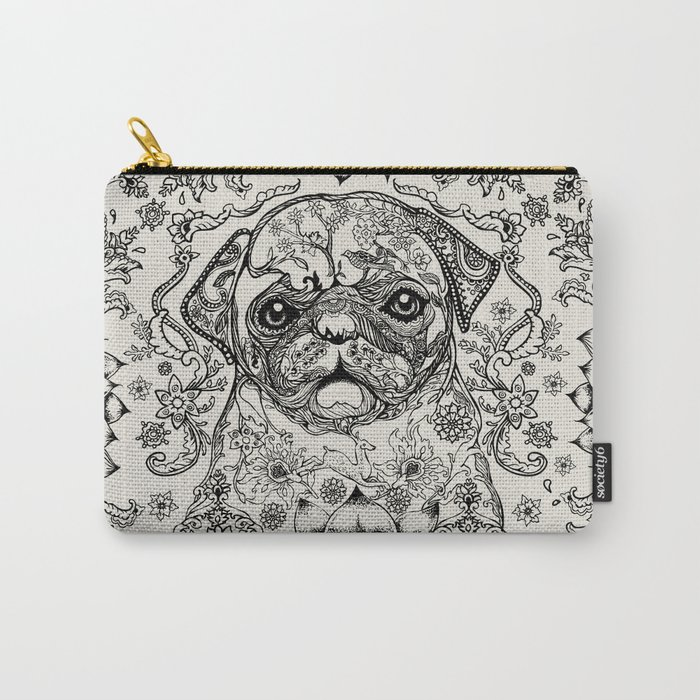 Persian Pug Carry-All Pouch