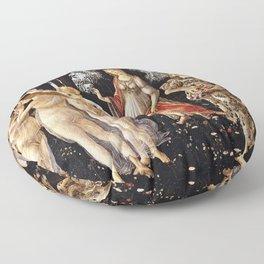 Sandro Botticelli - La Primavera , Spring Floor Pillow
