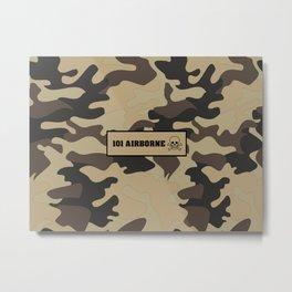 Military Camouflage 101 airborne Metal Print