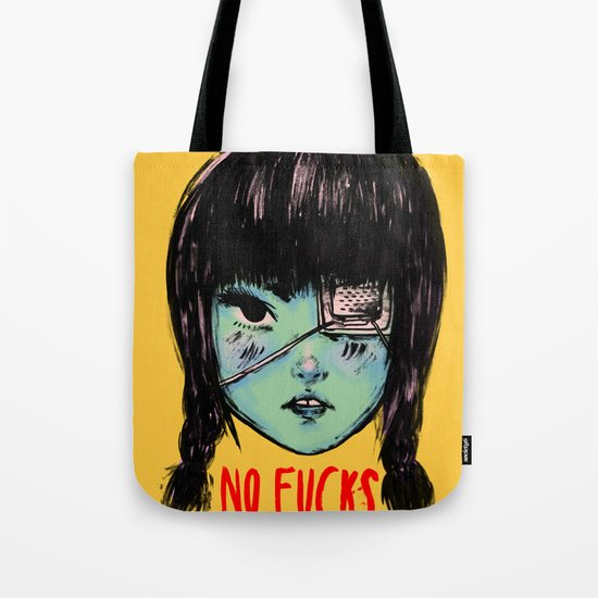 no fucks Tote Bag