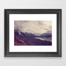 New Zealand (4) Framed Art Print