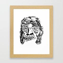 les gens de Belleville Framed Art Print