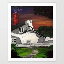 Shoe Value Art Print