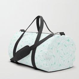 Leaves in Ocean Duffle Bag