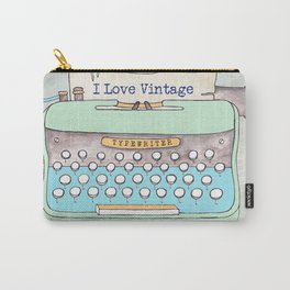 Typewriter #8 Carry-All Pouch
