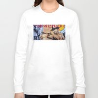 cowboy bebop Long Sleeve T-shirts featuring Cowboy Bebop by Mark Matlock