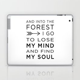 Into the Forest I Laptop & iPad Skin