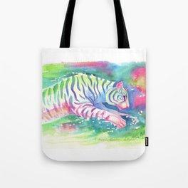Jumping Tiger Tote Bag
