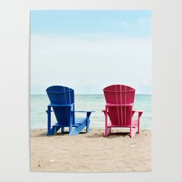 AFE Beach Chairs Poster