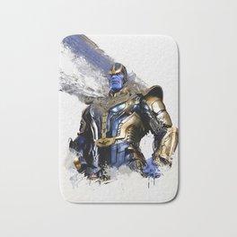 Thanos digital artwork Bath Mat