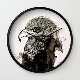 The Spirit of the Eagle Wall Clock